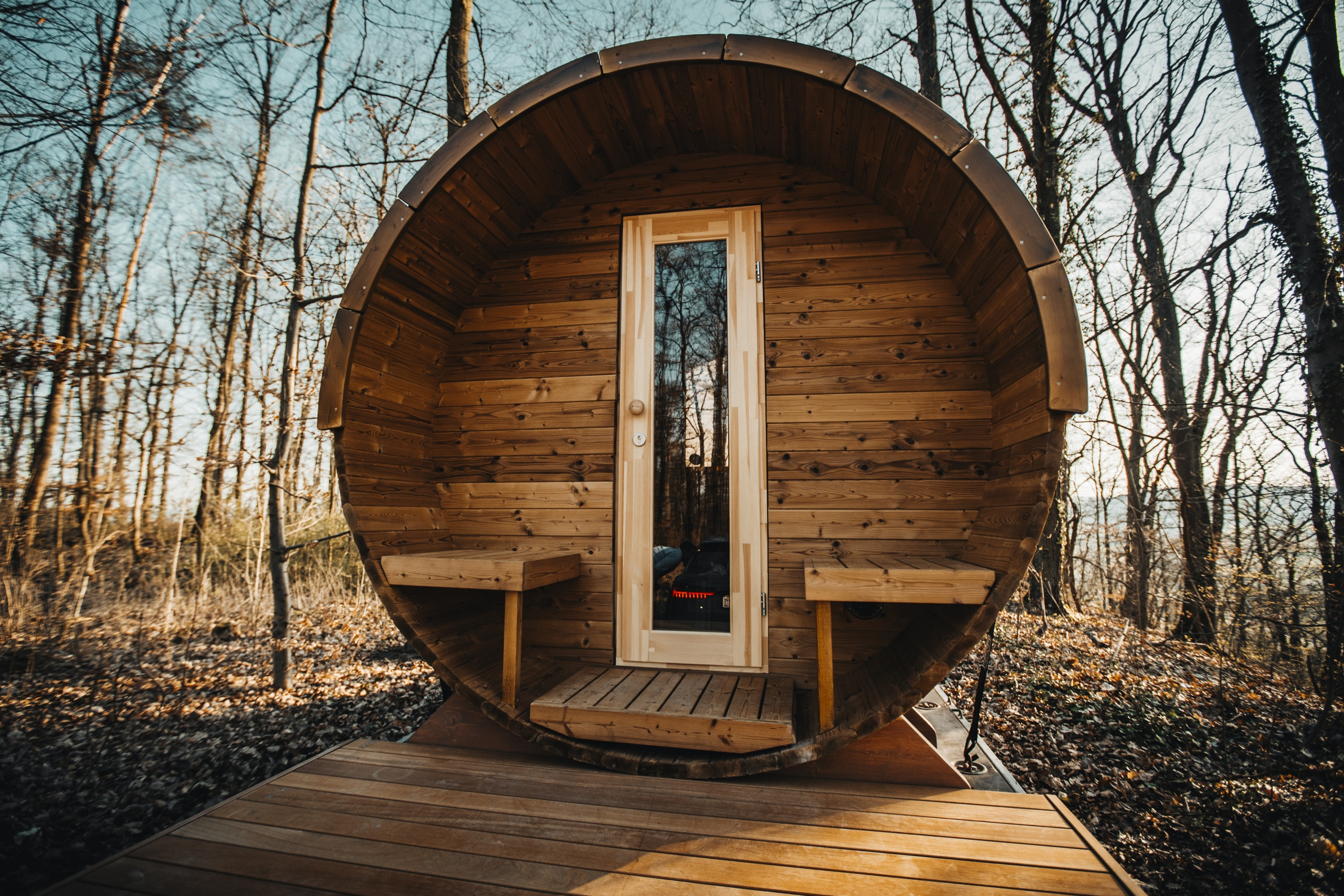 Sauna Grundstück
